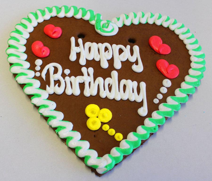Lebkuchenherzen Alles Gute Zum Geburtstag 35 Cm Grosshandel
